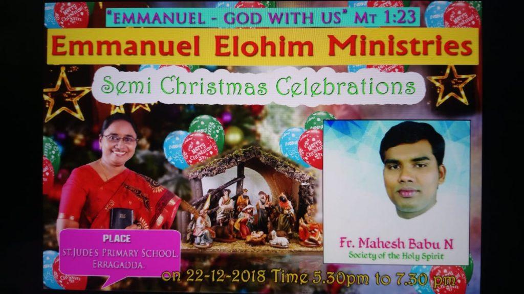 Semi Christmas Celebration